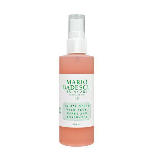Facial Spray with Aloe Herbs and Rosewater, 118ml